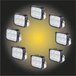 LED Arbetsljus Paket 12-24V