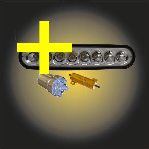 *Tillbehör/Problemlösare Backljus 24V