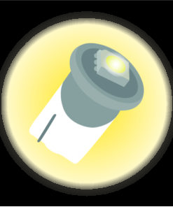 LED Lampor 12V-24V
